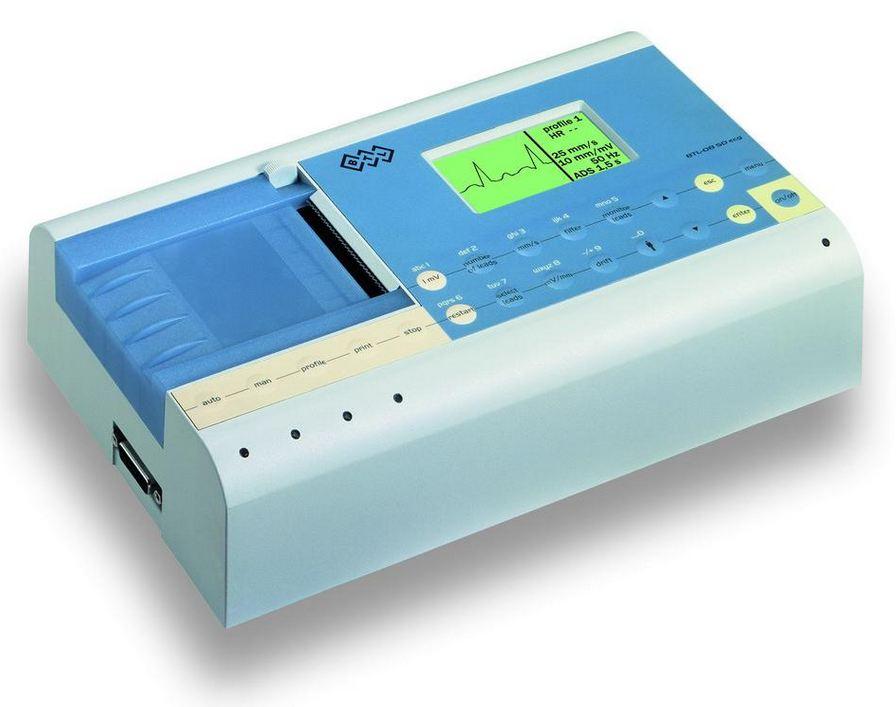 elettrocardiografo ECG BTL a 3 canali con display sd3