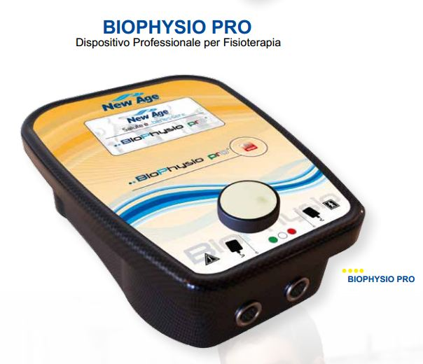 biophysio pro new age italia elettrostimolatore professionale