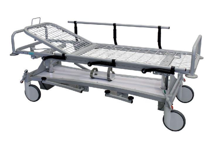 barella ospedaliera ad altezza regolabile