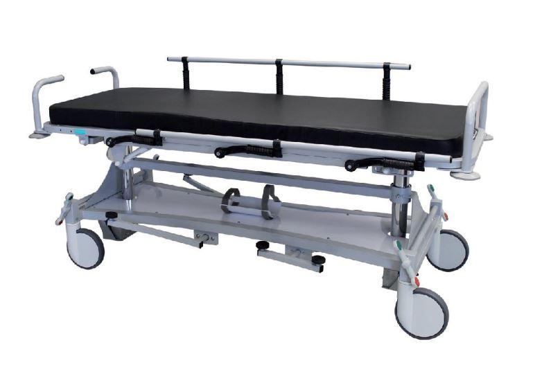 barella ospedaliera con piano regolabile rx
