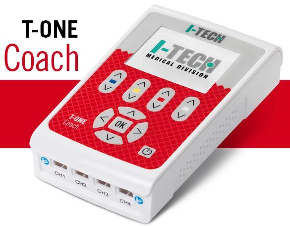 elettroterapia a 4 canali i-tech t-one coach