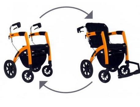 kinemed - deambulatore rollz motion