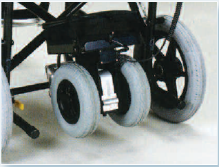 dispositivo trazione carrozzine