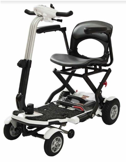 scooter elettrico per disabili pieghevole wimed