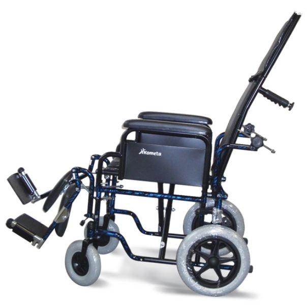 Salute e benessere carrozzina pieghevole da for Larghezza sedia a rotelle