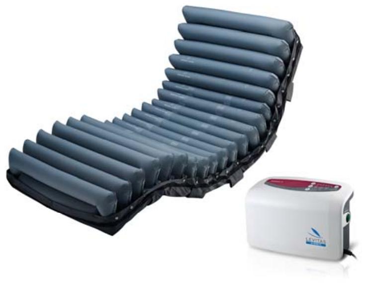 kit materasso antidecubito ad aria con compressore lad 690 domus 4 moretti