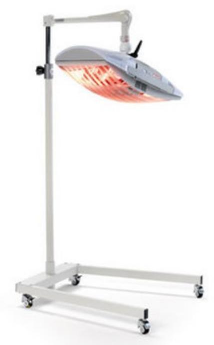 lampada raggi infrarossi ir professionale chinesport