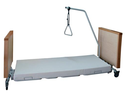 Salute e benessere kinemed letto elettrico specialistico per alzheimer floor - Altezza letto da terra ...
