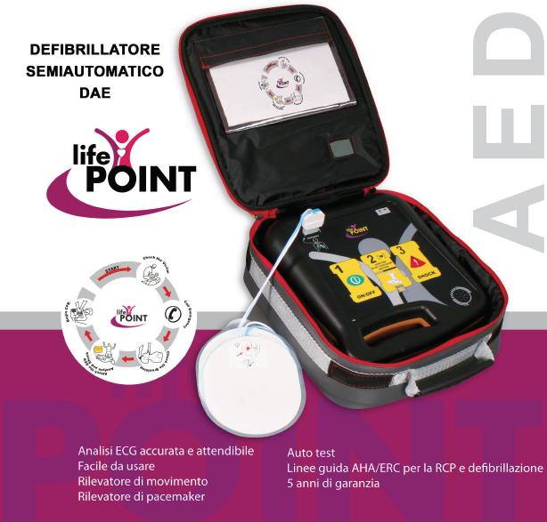 defibrillatore semiautomatico dae life point