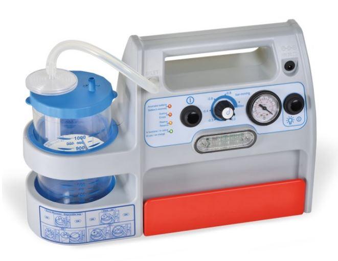 aspiratore chirurgico portatile a batteria