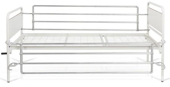 sponde per letto in alluminio
