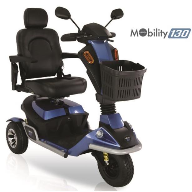 scooter elettrico per disabili 3 ruote mobility 130 cn 130