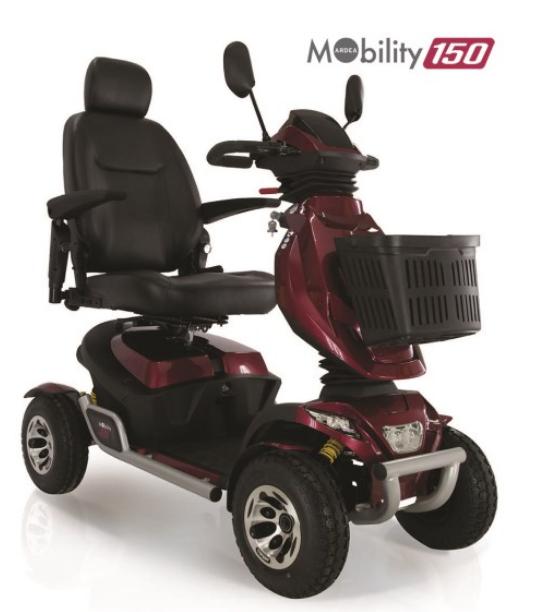 moretti mobility cn 150 scooter per disabili
