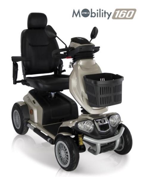scooter elettrico per disabili moretti mobility 160
