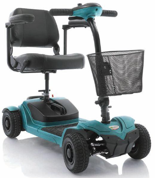 scooter elettrico per disabili moretti mobility modello pixi