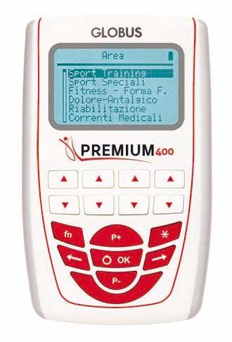 elettrostimolatore per sportivo globus premium 400