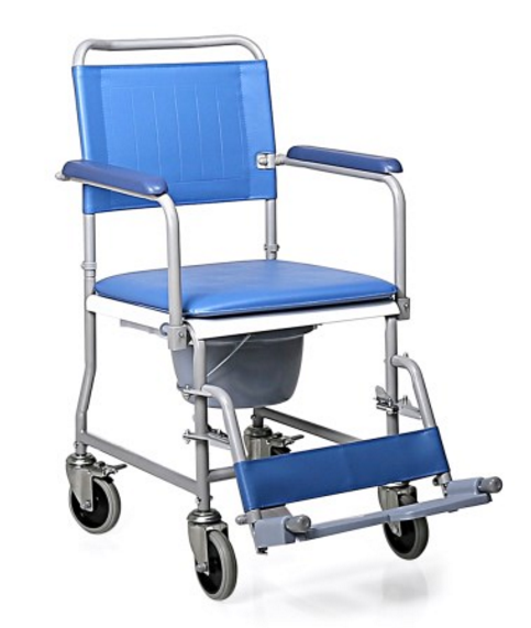 sedia comoda su ruote con wc moretti mopedia rc210