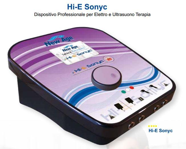 ultrasuono terapia professionale hi-e sonic new age italai