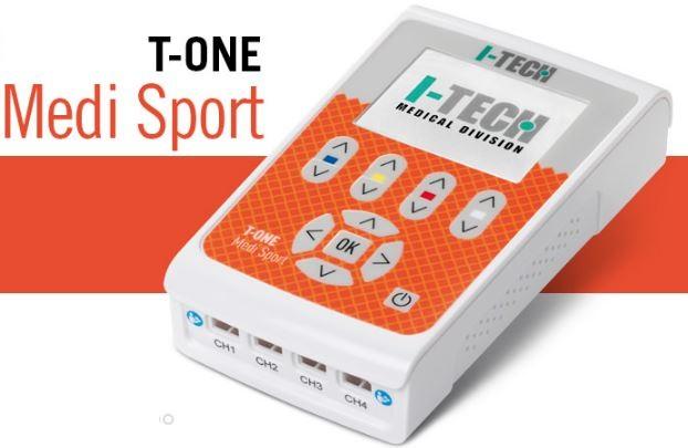 elettroterapia a 4 canali i-tech t-one medi sport