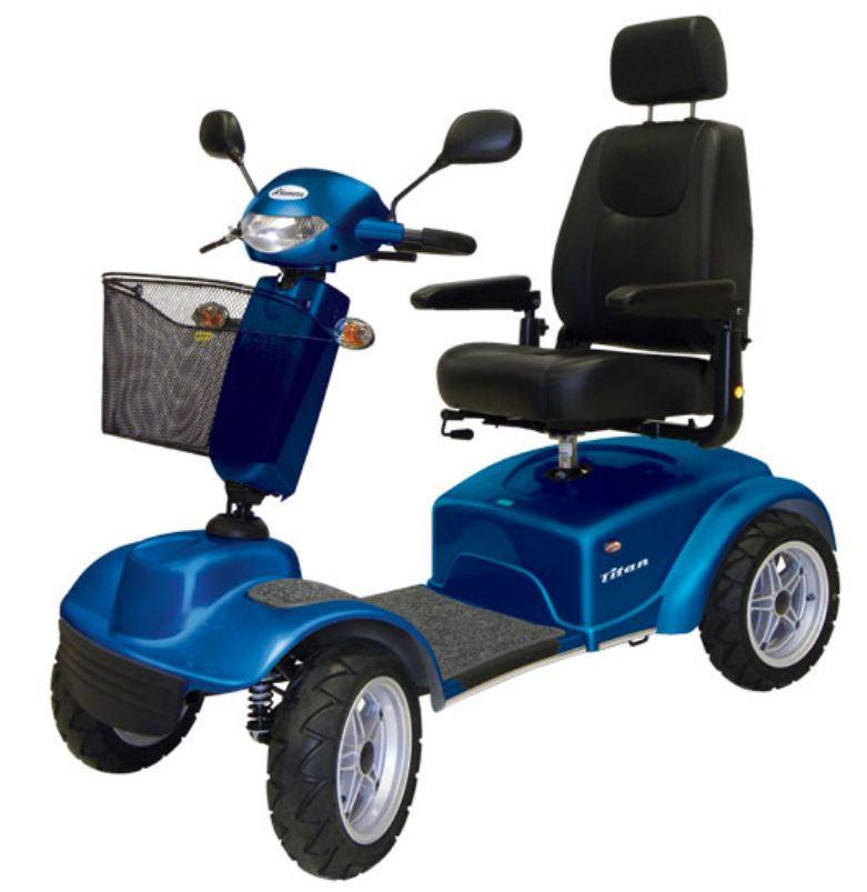 scooter per disabili fuoristrada titan