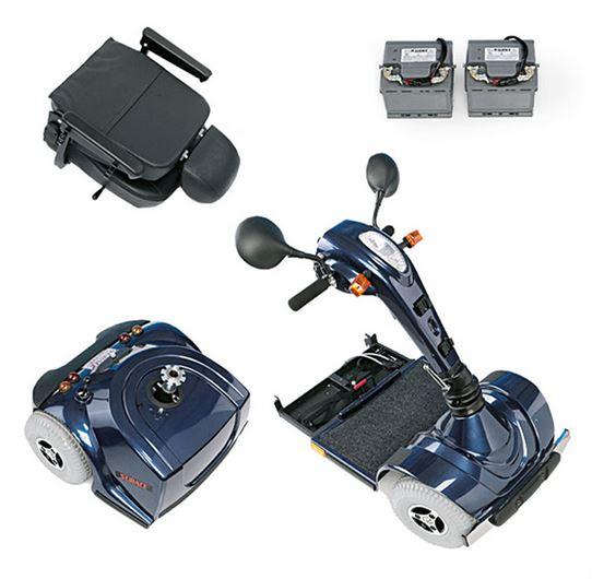 scooter elettrico per disabili surace twist
