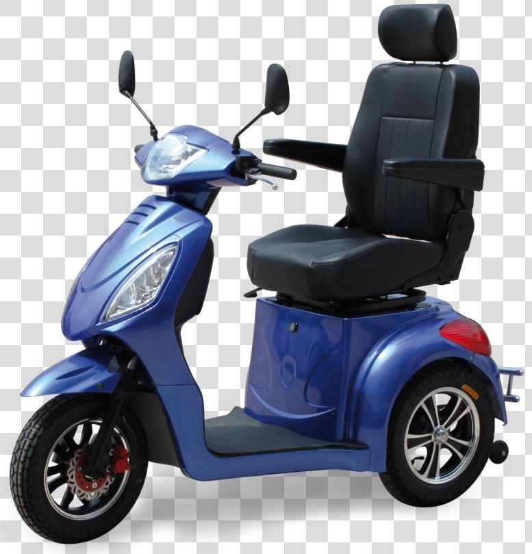 scooter per disabili 3 ruote kometa vertigo