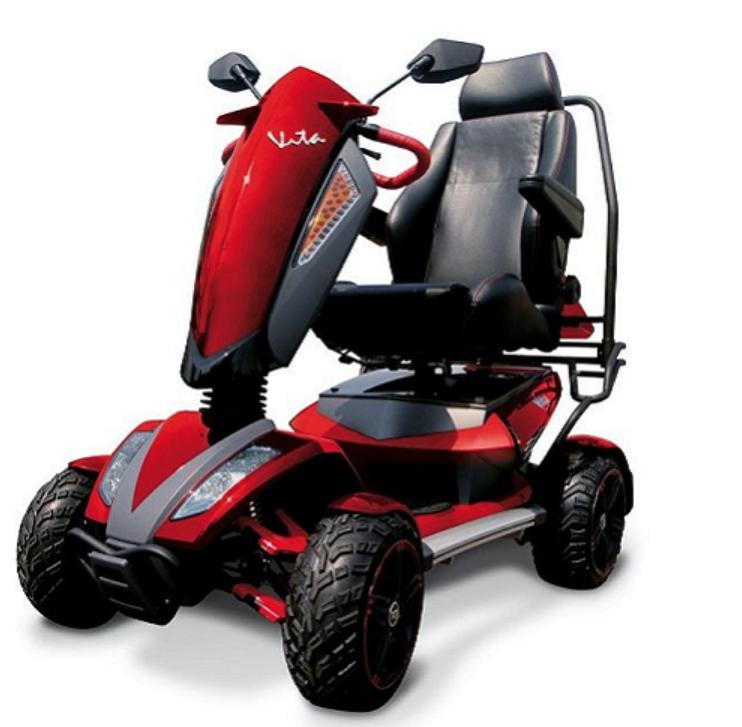 scooter elettrico disabili wimed vita s12 x