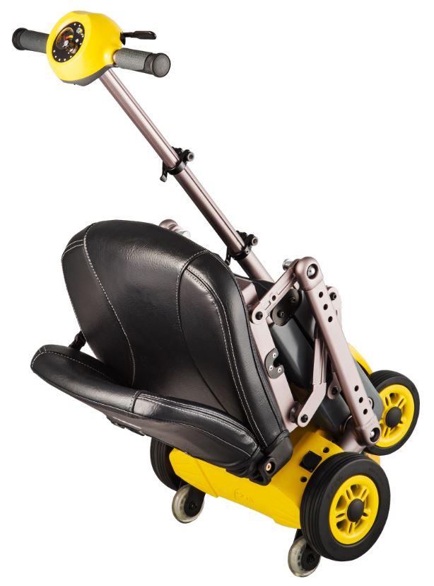 scooter elettrico pieghevole a trolley valigia Kometa Yoga